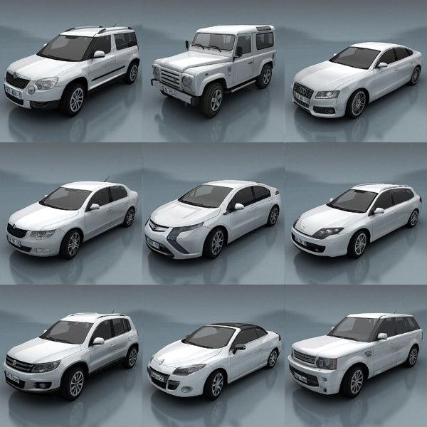 car 3d max