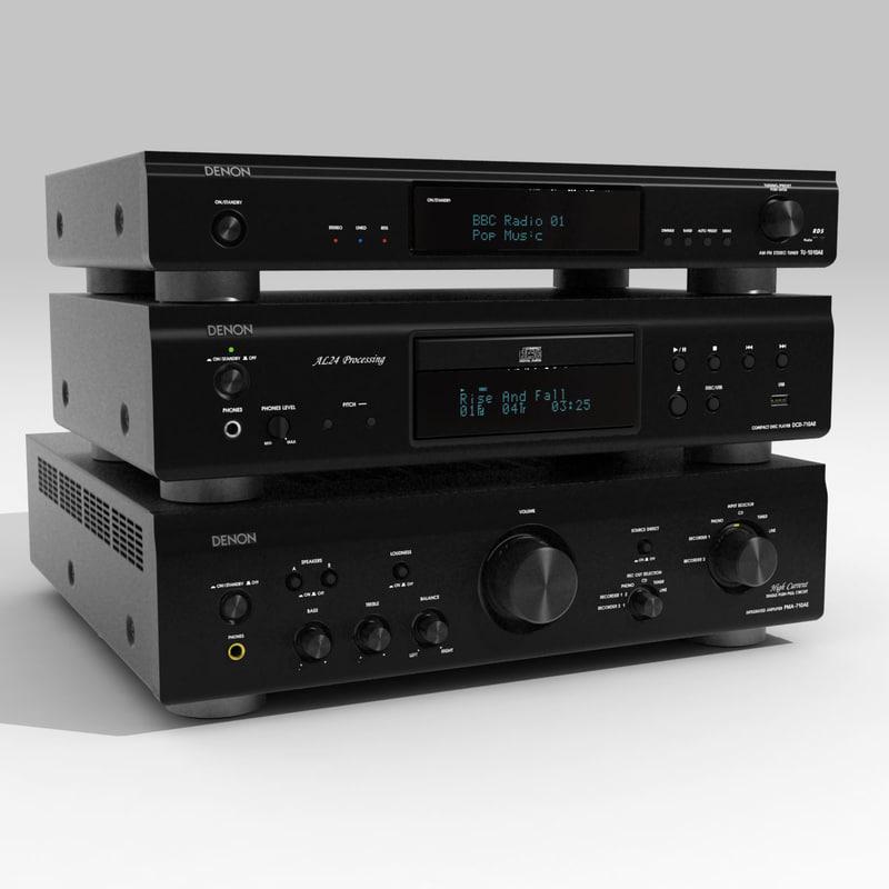 3d hi-fi model