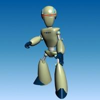futuristic robot - 23-b max