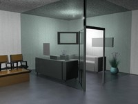 offices 3d model