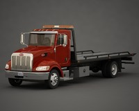 3d model tow truck rollback