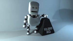 3d eyes robot