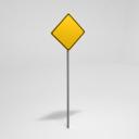 Street Sign Warning