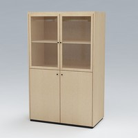 free bookcase 3d model
