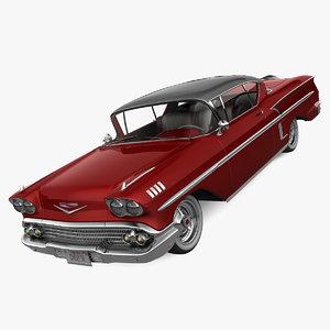 realistic chevrolet impala 3d 3ds