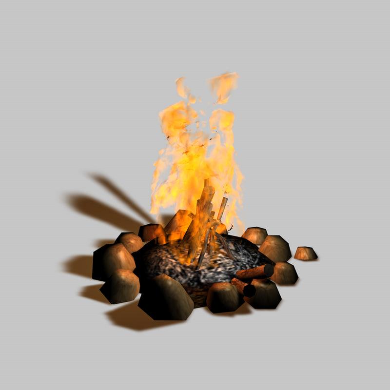 campfire obj