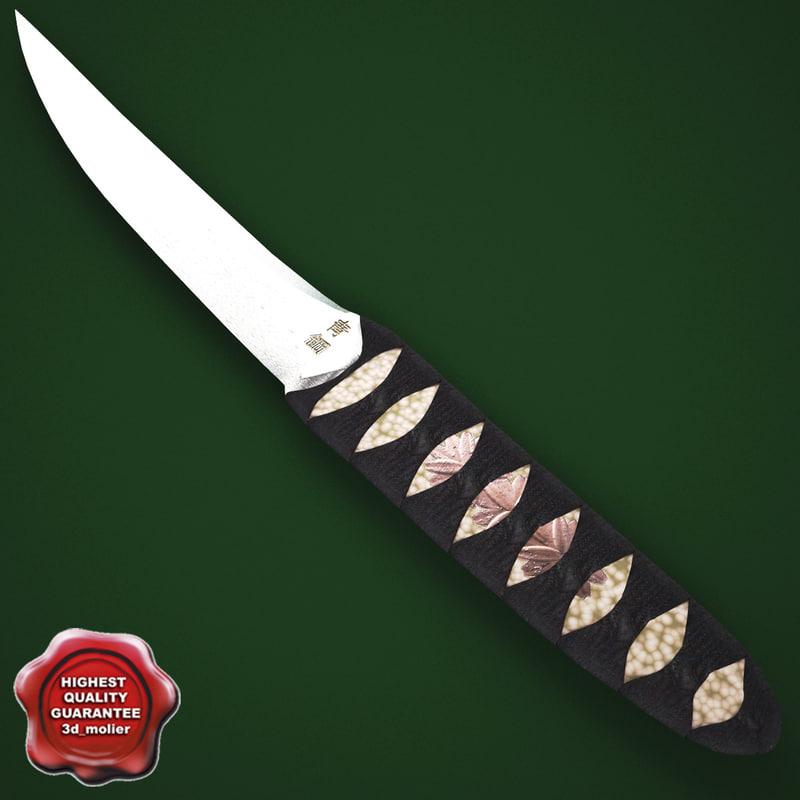 japanese knife kwaiken max