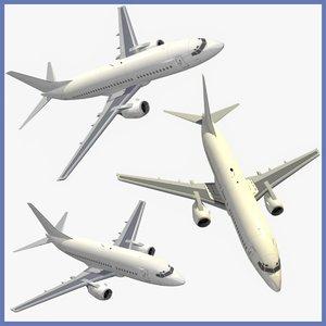 3d model boeing 737 classic