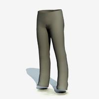 pants clean 3d max