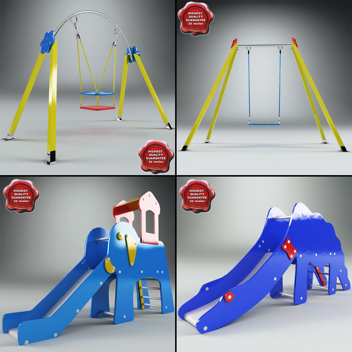 playgrounds v4 3d 3ds