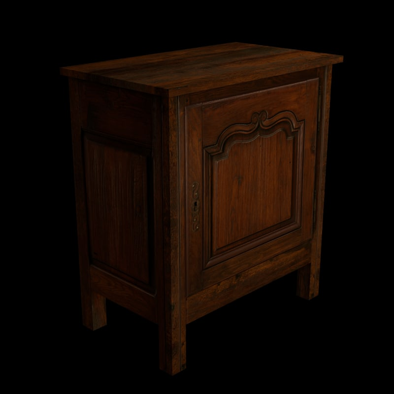 3ds max cabinet traditional