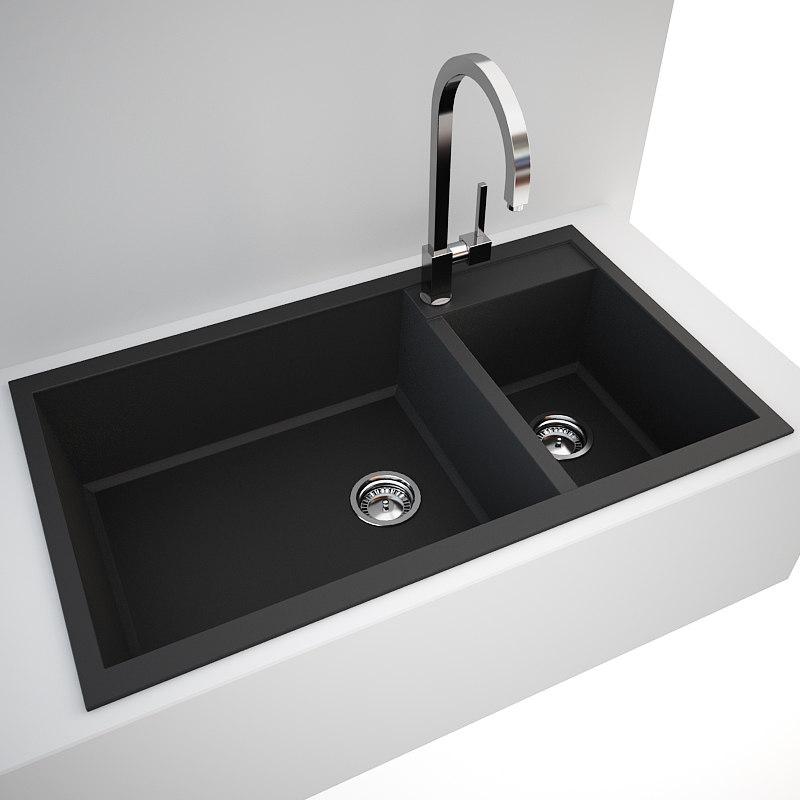 Kitchen sink 3D Models