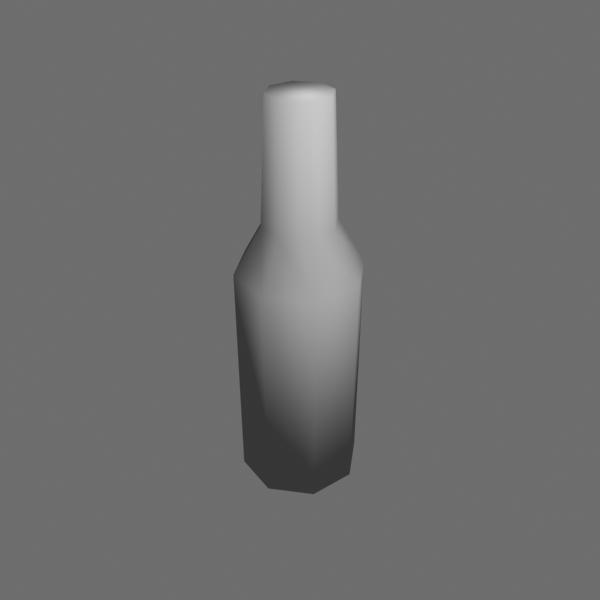 free bottle 3d model