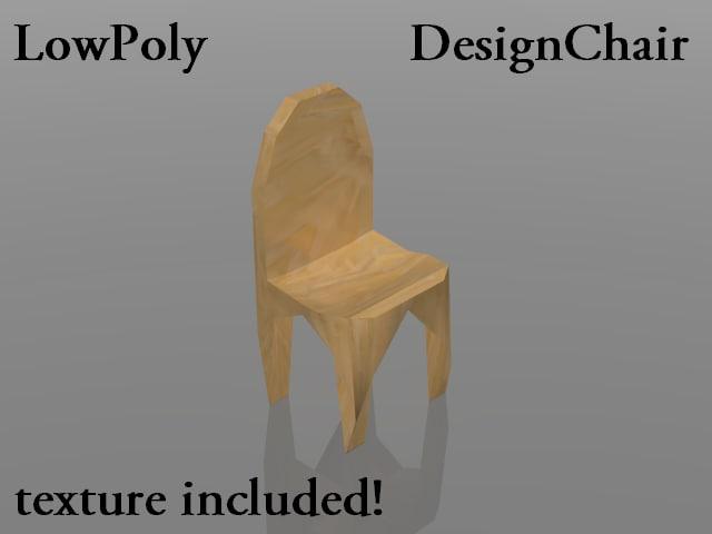 max chair wood design