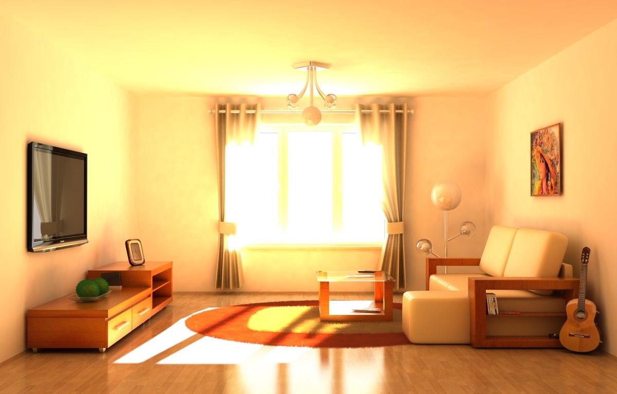 interior daylight night 3d model