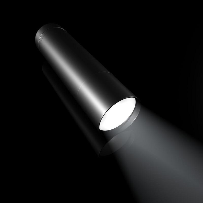 obj flashlight light