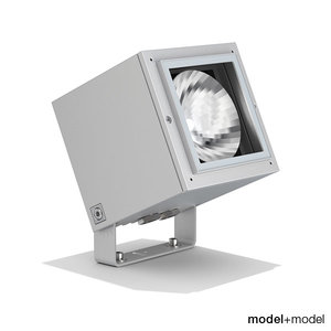 iguzzini ipro projector lights 3d obj