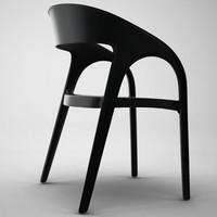 3d model gossip chair