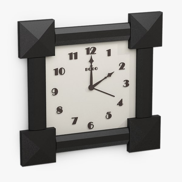 dxf clock
