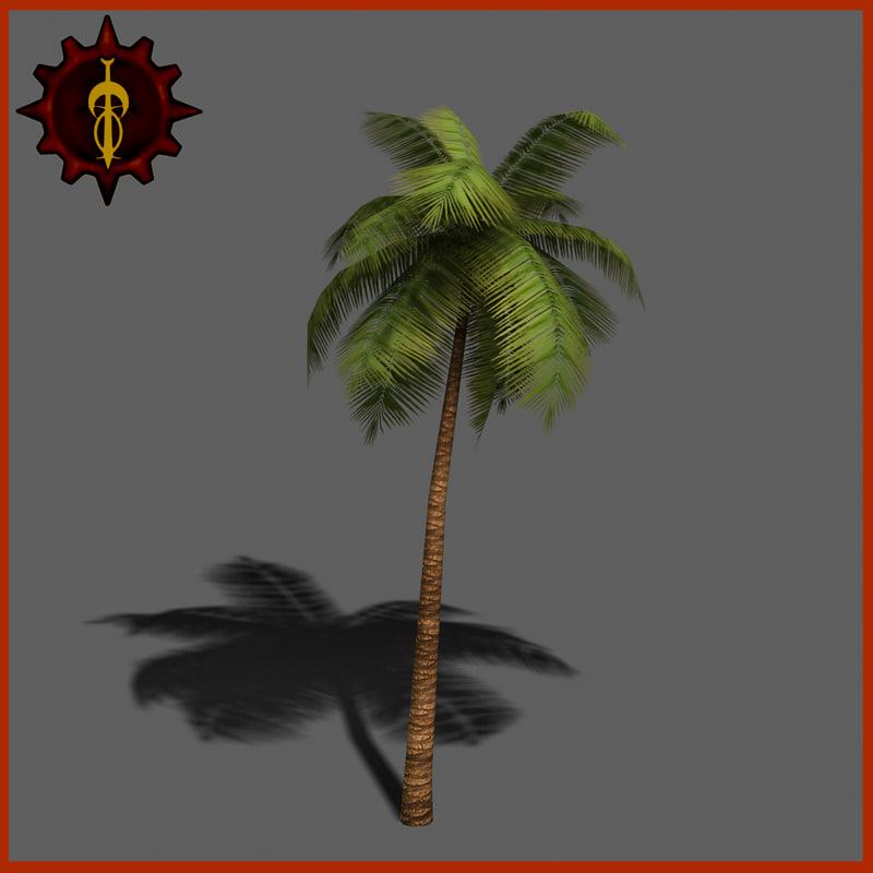 palm tree 3d max