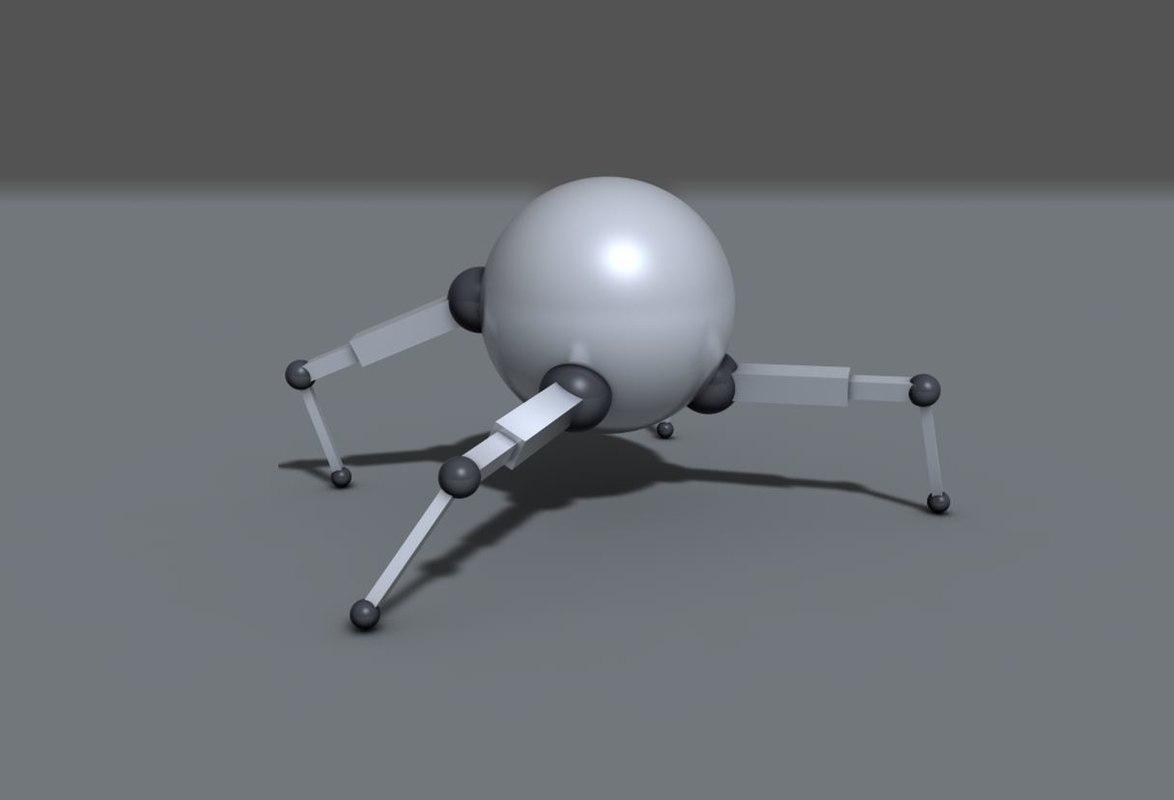 spherebot robot 3ds