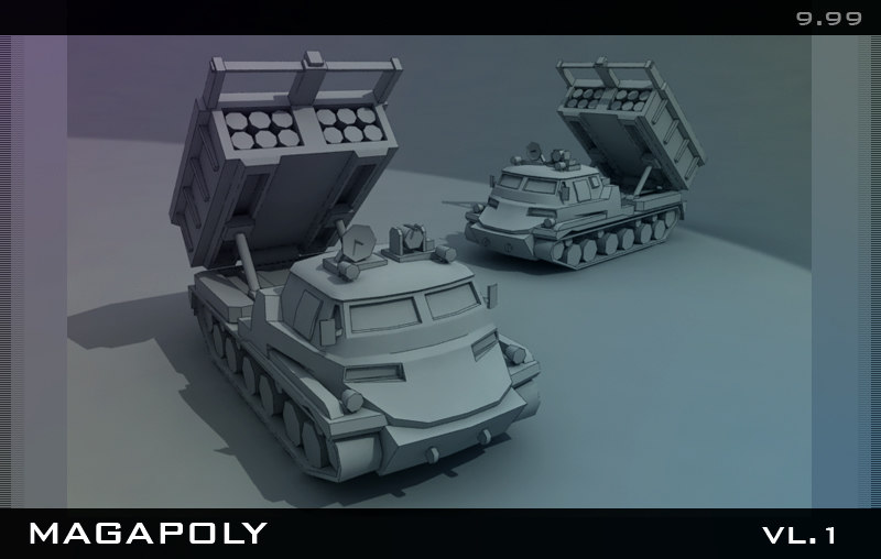 3d model of set collection