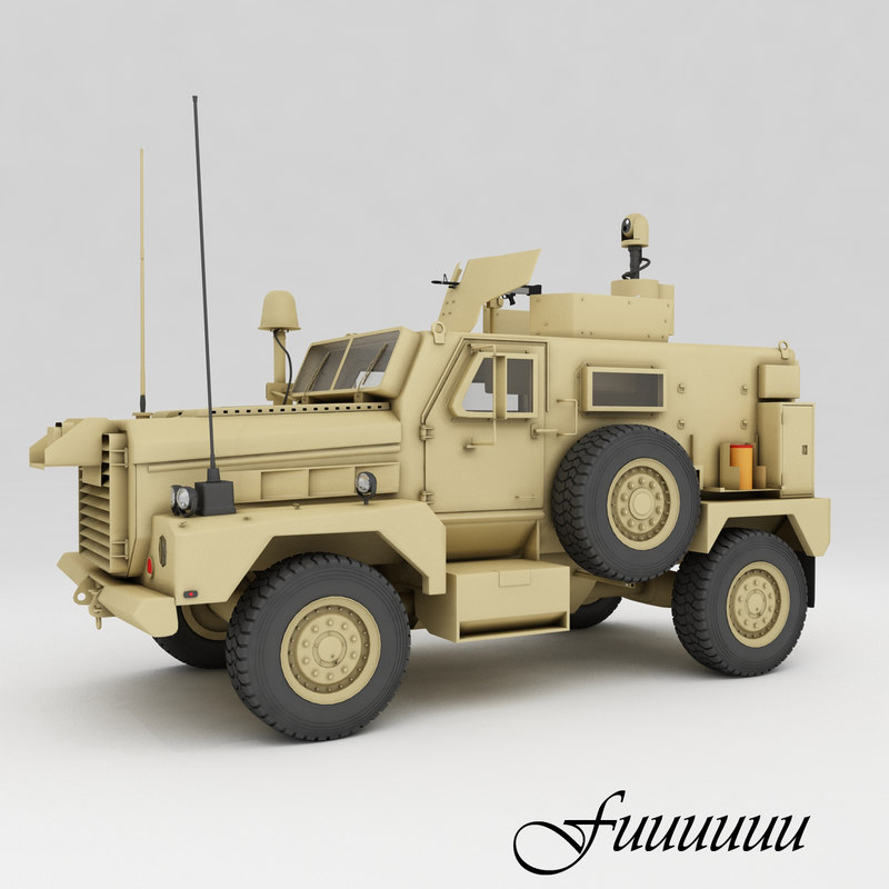 3ds max cougar h 4x4