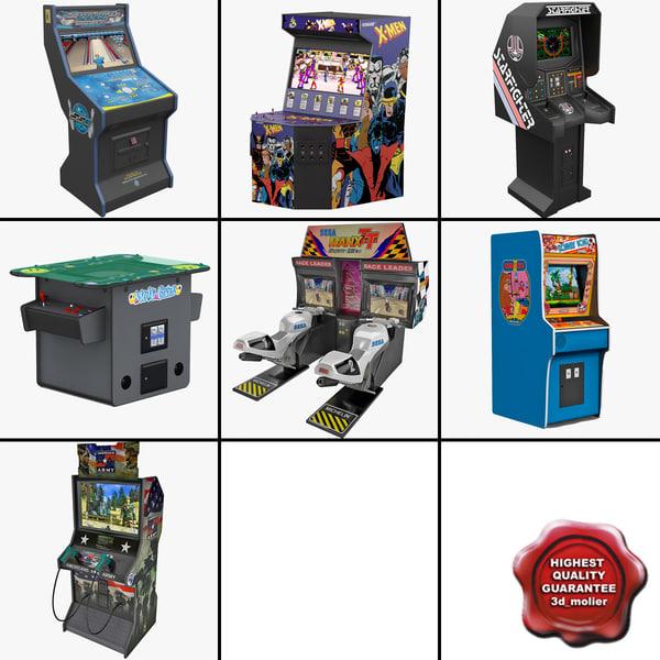 3dsmax arcade games 3