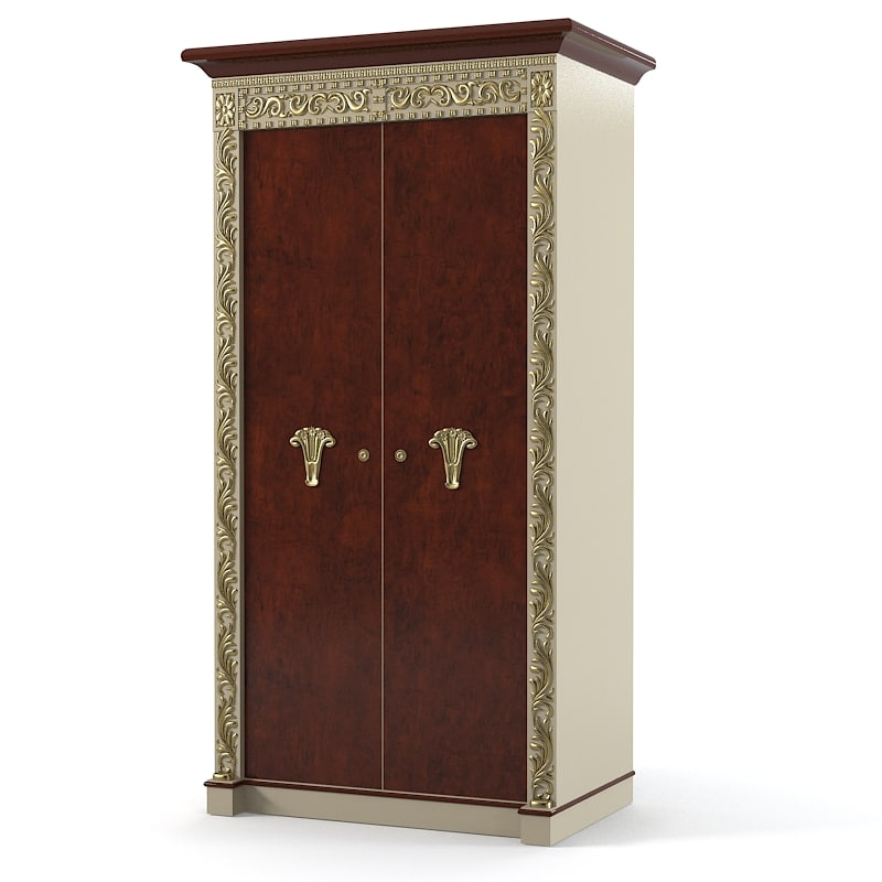 bisini bedroom armoire 3d model
