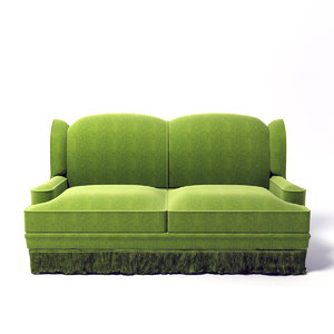 3d edward ferrell sofa