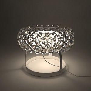 foscarini caboche lamps - 3d max