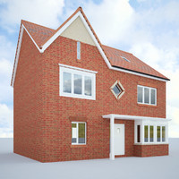 english house 3d model
