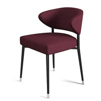 Minotti Mills Low dining chair modern contemporary seating
