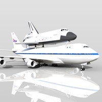 NASA Shuttle Carrier Aircraft Boeing 747