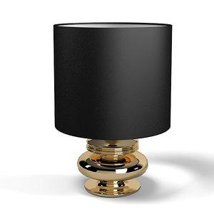 smania table lamp 3d max