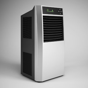 standing air conditioner 07 3d obj