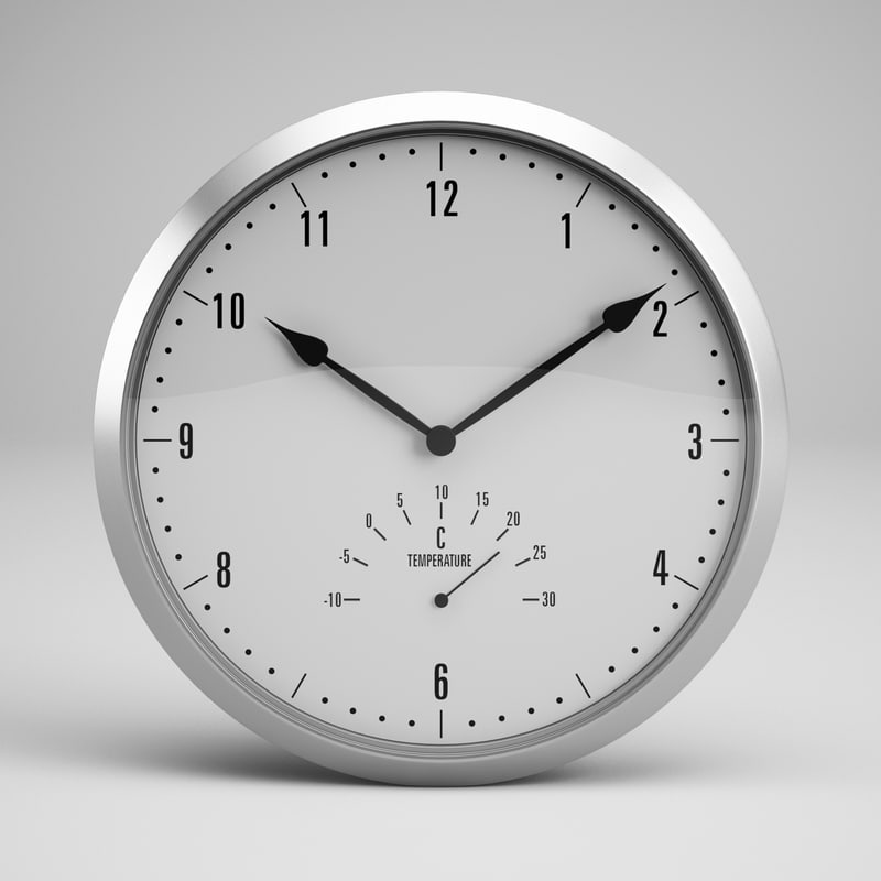 3ds max clock 30
