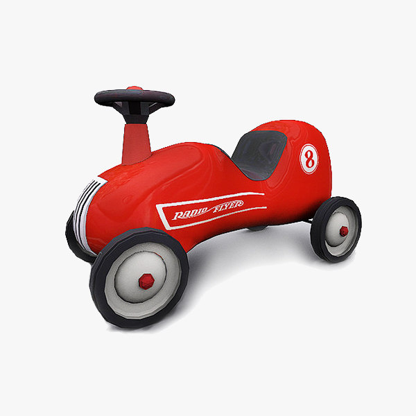 3d classic baby car model