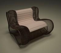 lounge chair x