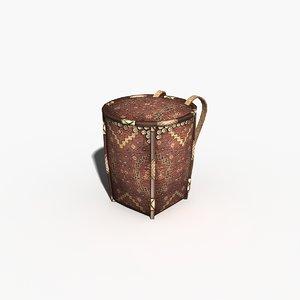 3dsmax backpack tea