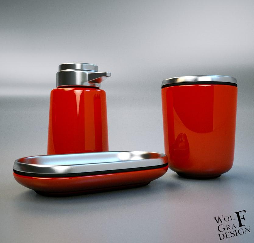 soap dispenser 3d obj