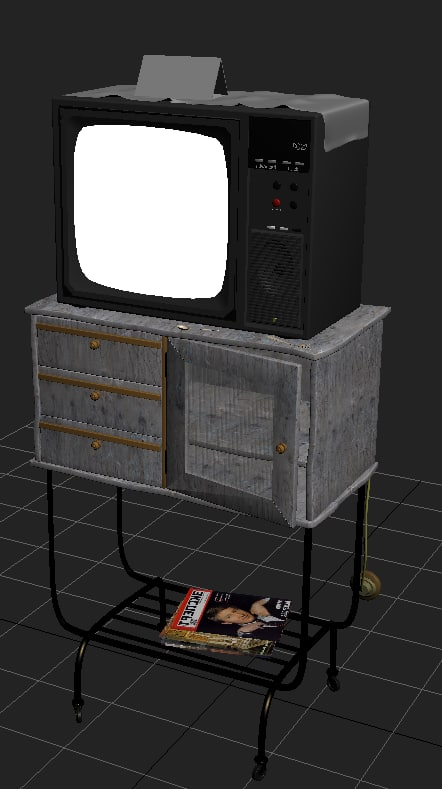 table tv 3d model