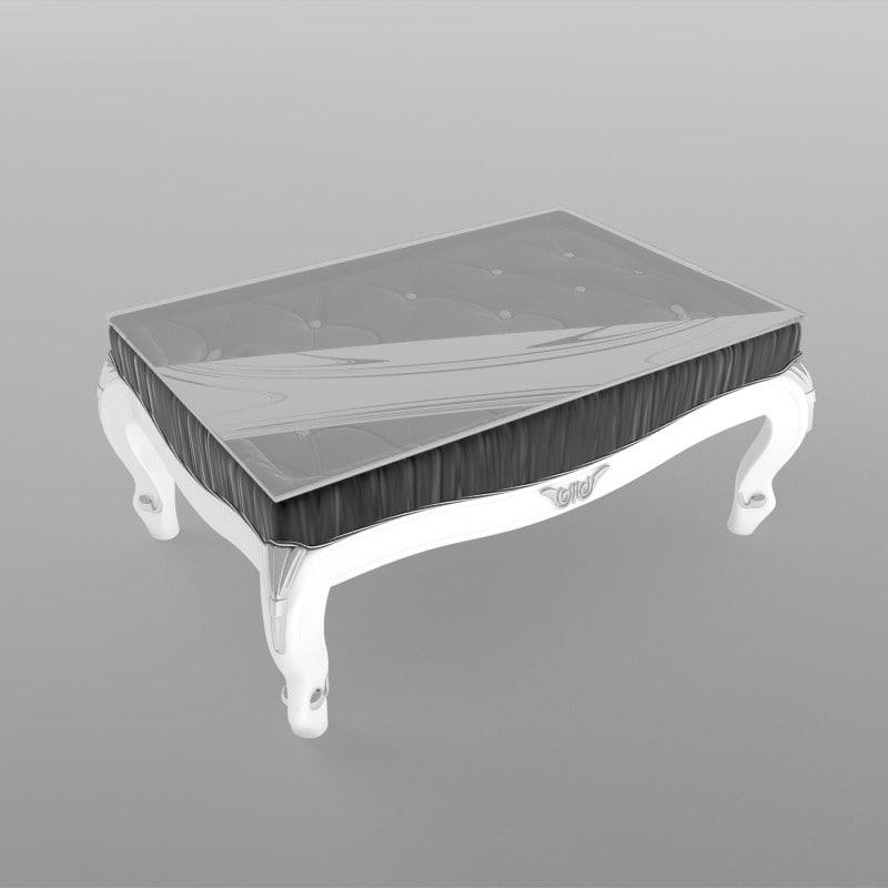 table velvet 3d model