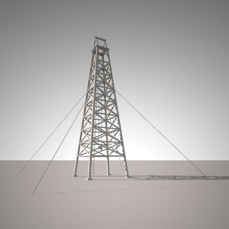 tower oil 3d 3ds