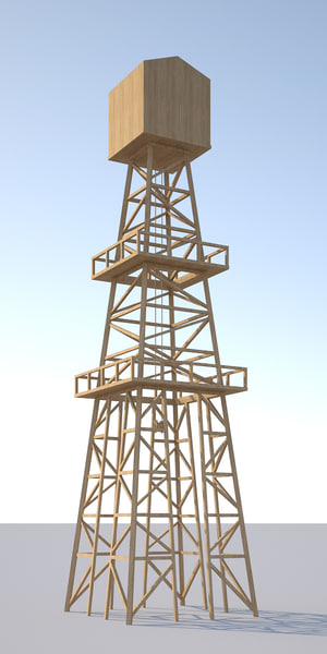 3ds oil tower