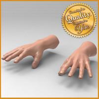 Human Male Hand