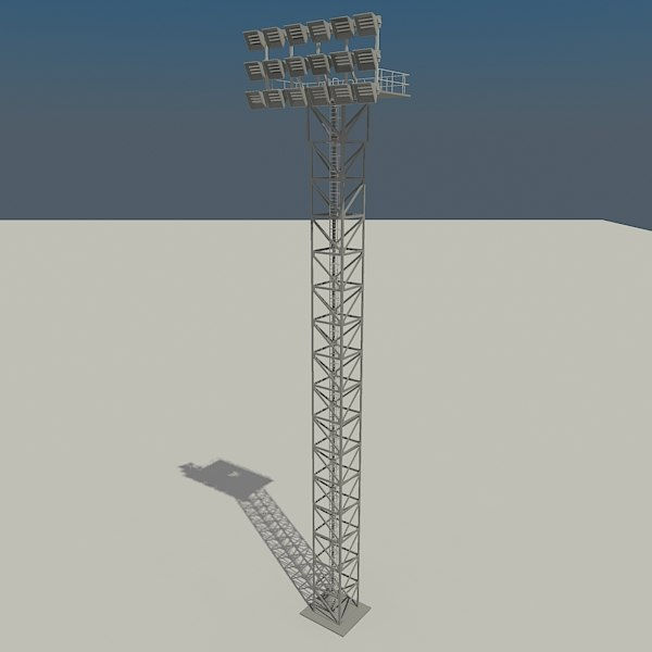 lighting tower 3ds
