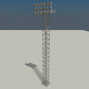 lighting tower 3ds