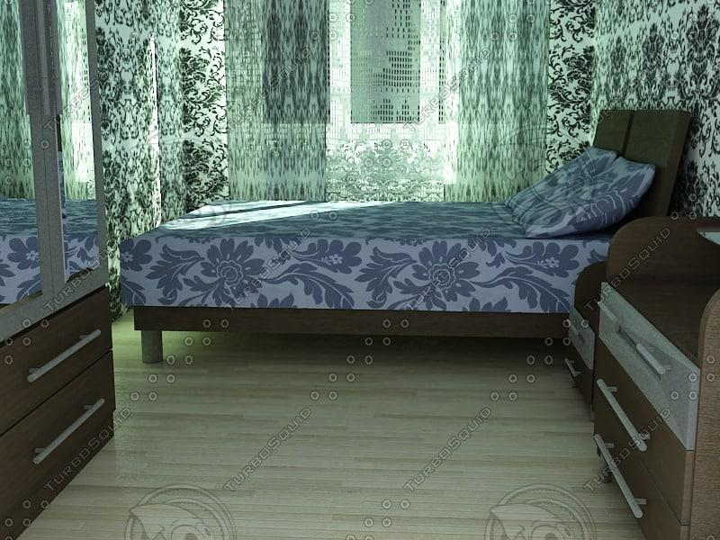 bedroom bed x
