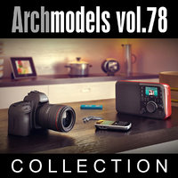 3d archmodels vol 78